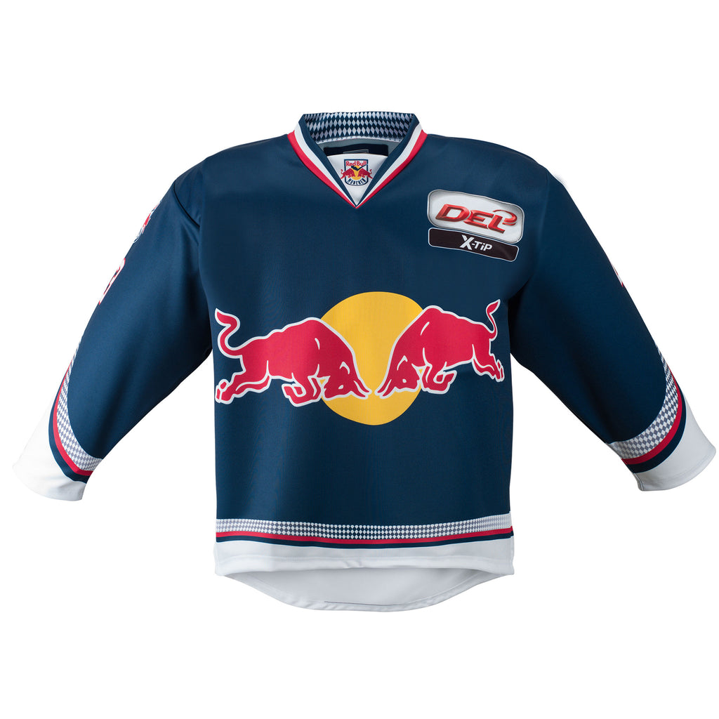 EHC Red Bull Munich Home Jersey  9db0bea7a9a