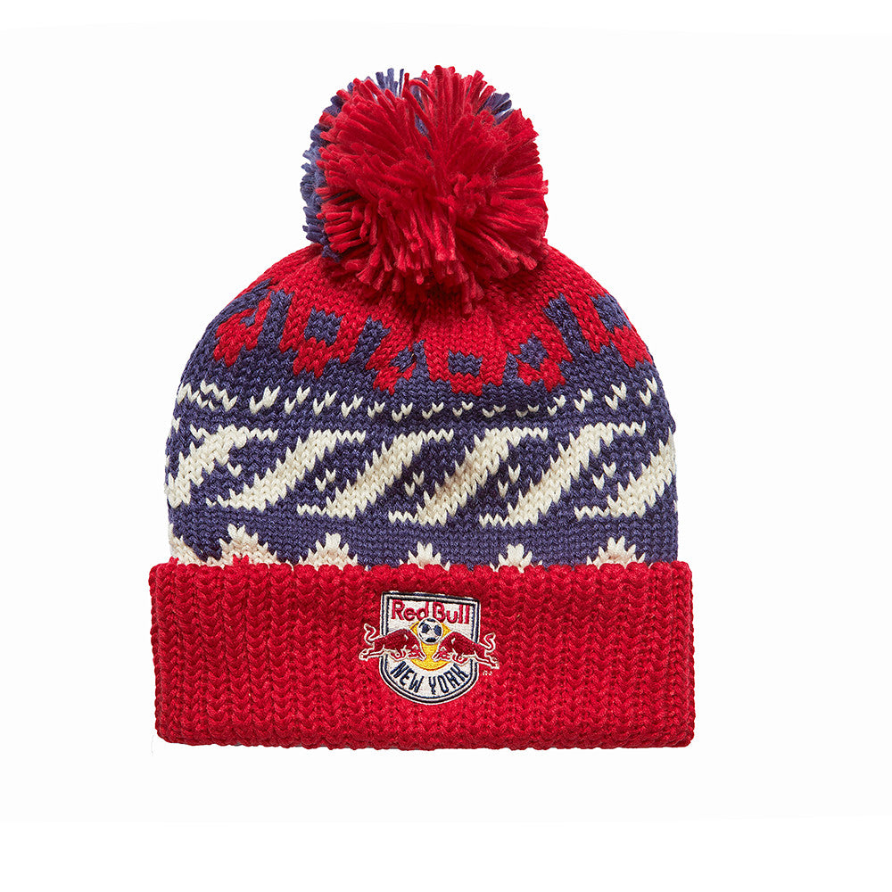 New York Red Bulls 2016 Cuffed Knit POM