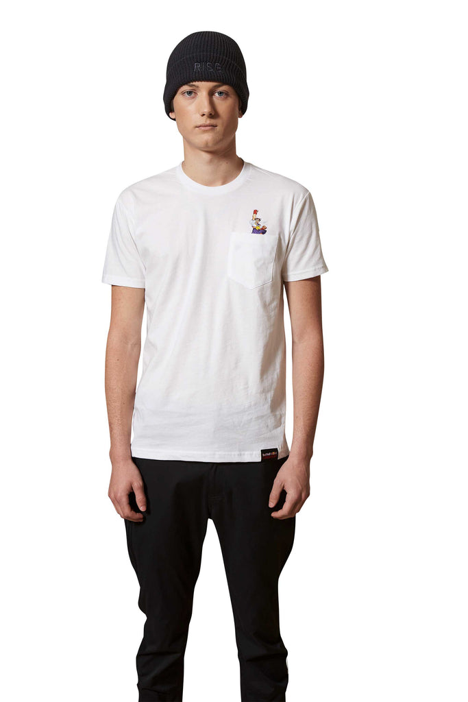 Red Bull Conquest Sakura Pocket T-Shirt