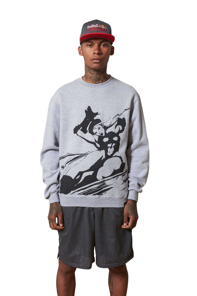 Red Bull Conquest Cammy Crewneck Sweatshirt