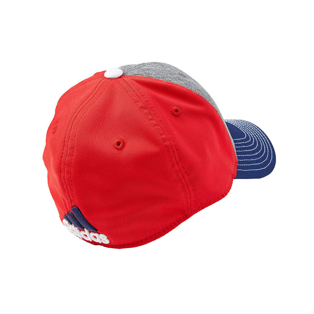 New York Red Bulls adidas Authentic Team Structured Hat