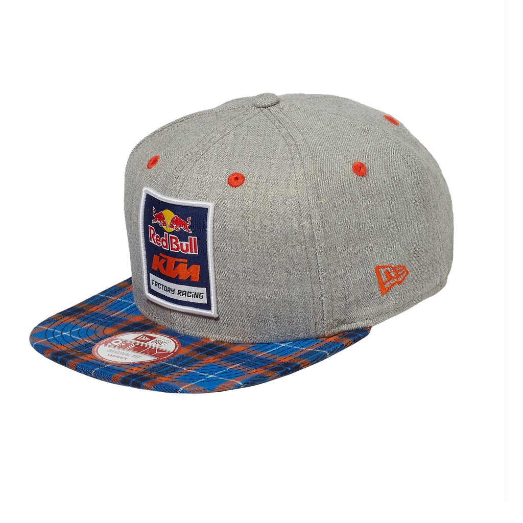 Red Bull KTM Factory Racing Plaid Logo Hat