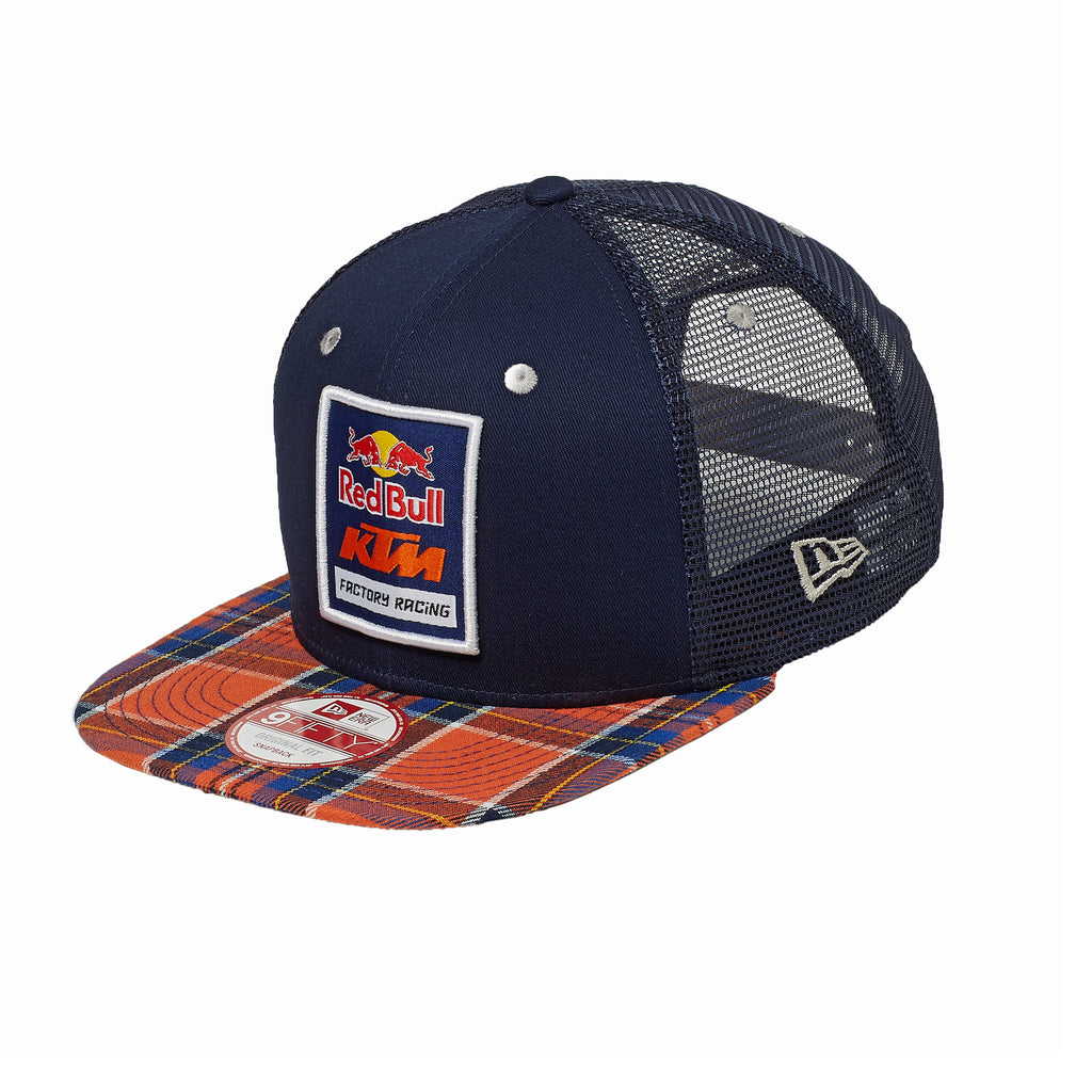 Red Bull KTM Factory Racing Plaid Trucker Hat