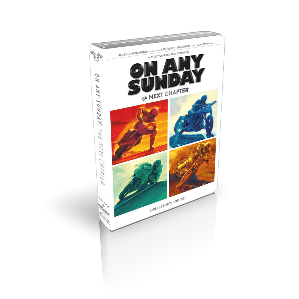 On Any Sunday, The Next Chapter 3-in-1 Collector's Edition DVD, Blu Ray & MP4