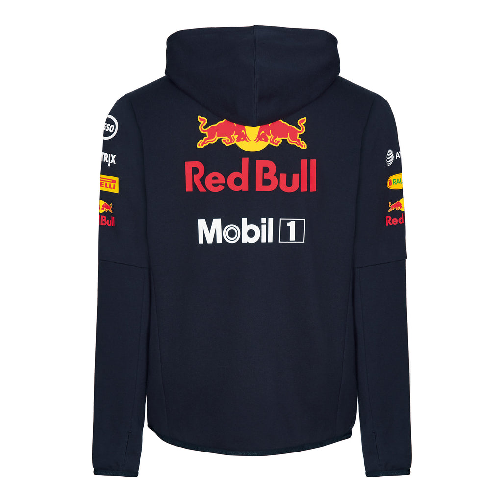09d1c35206115 Aston Martin Red Bull Racing 2018 Official Teamline Zip Hoodie | Red ...