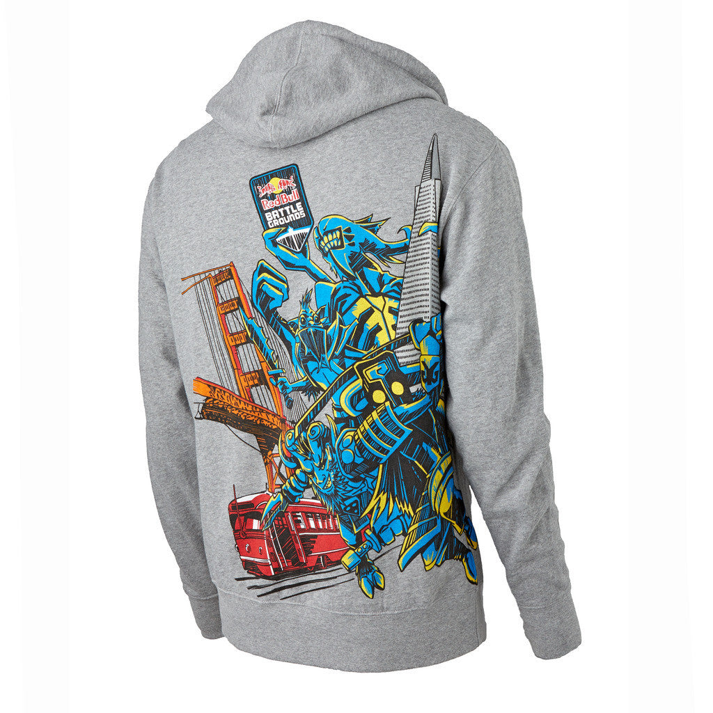 Red Bull Battle Grounds Full Zip Sweatshirt