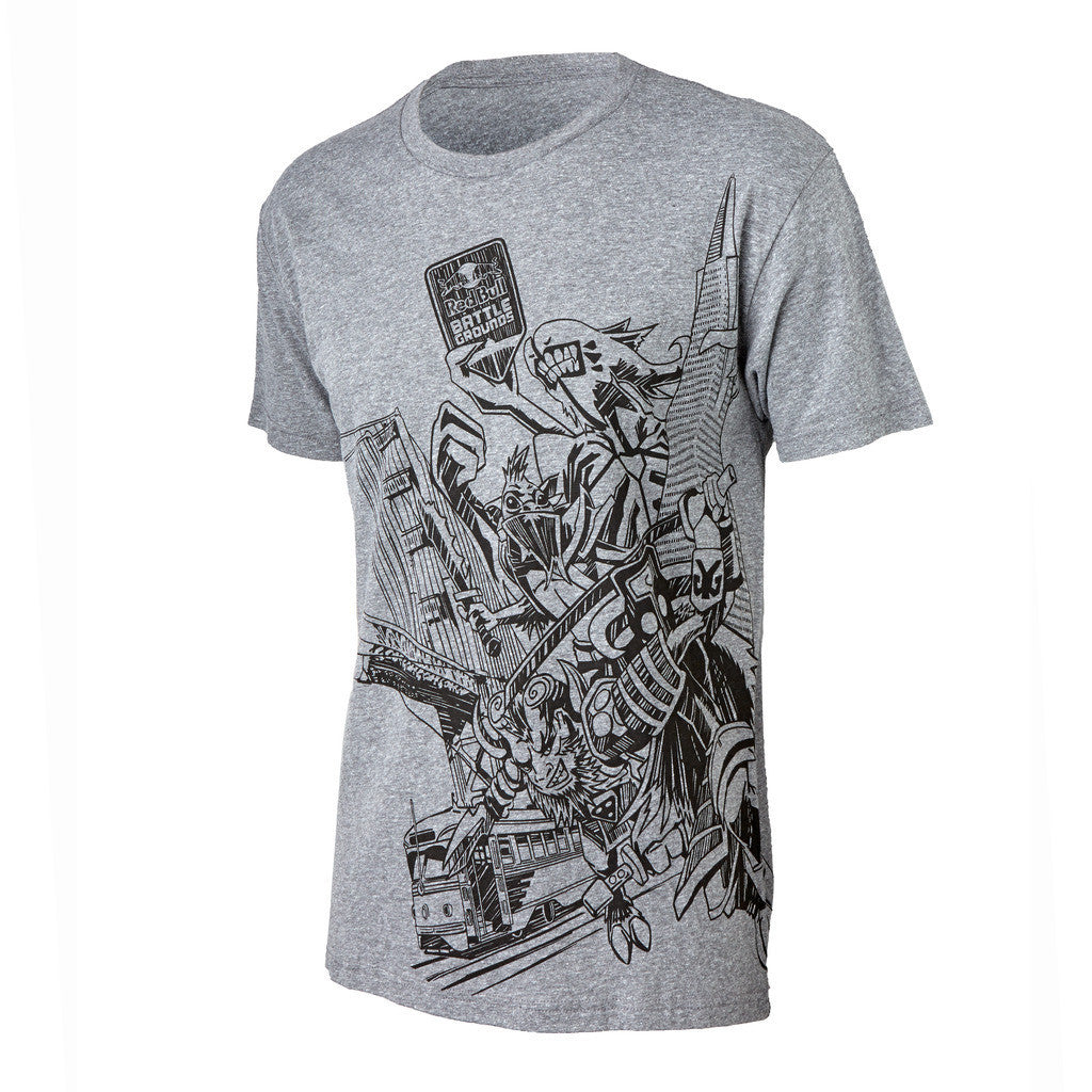 Red Bull Battle Grounds Official T-Shirt