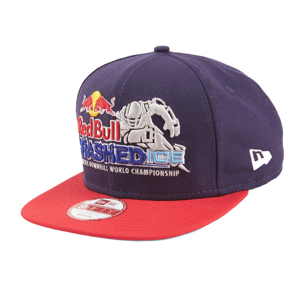 Red Bull Crashed Ice New Era Snapback Hat