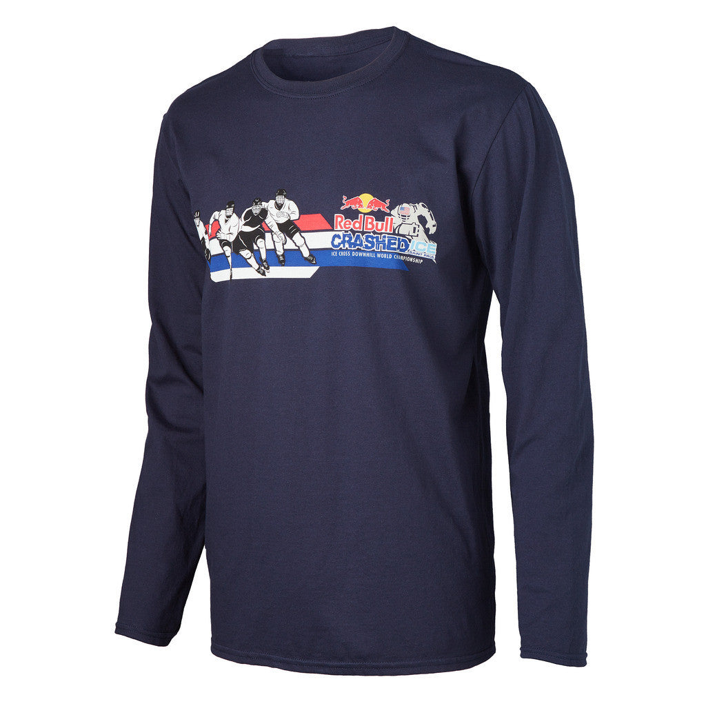 Red Bull Crashed Ice Long Sleeve Tee