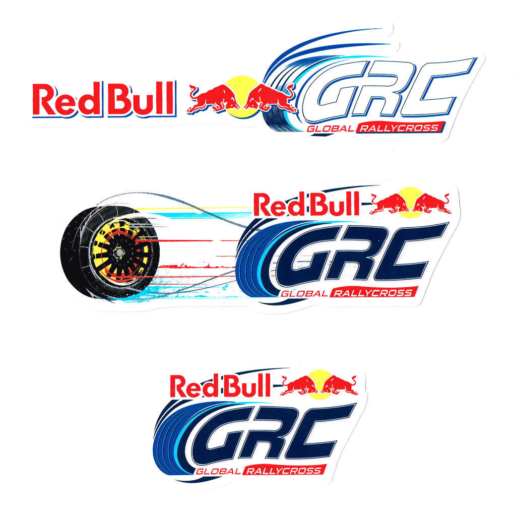 Red Bull GRC Sticker Pack