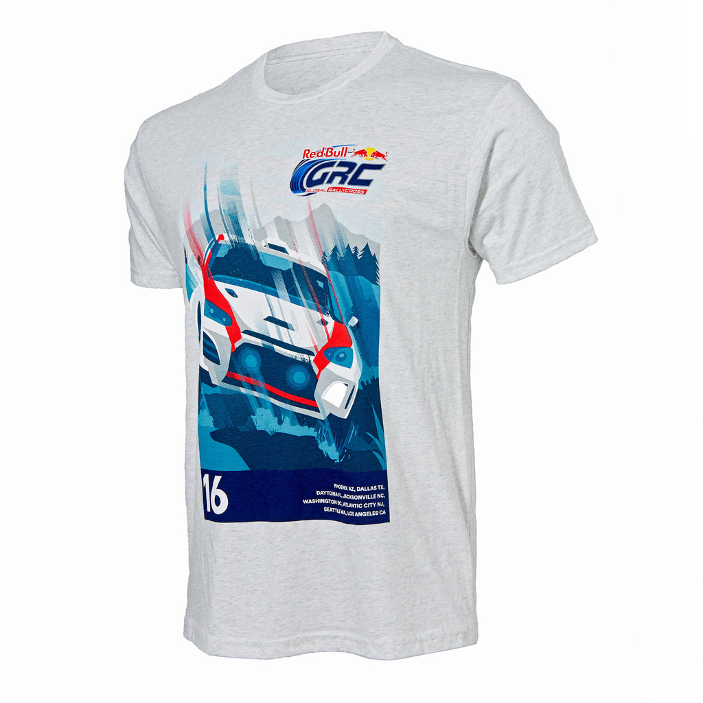 Red Bull Global Rallycross 2016 Rally Series Tee