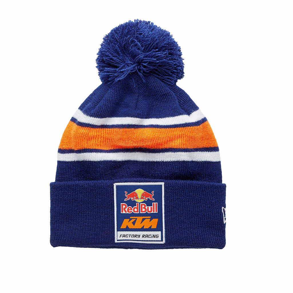 Red Bull KTM Factory Racing Pom Logo Beanie