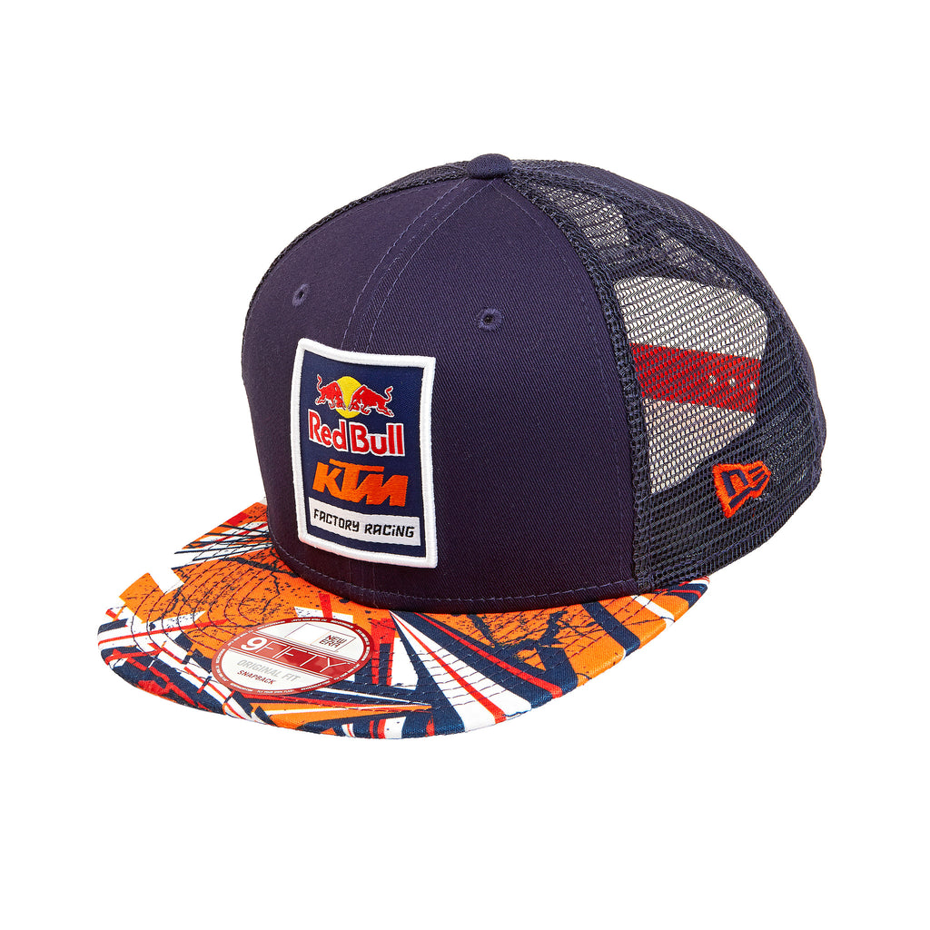 Red Bull KTM Factory Racing Spikes Trucker Hat  6ee83c4b609