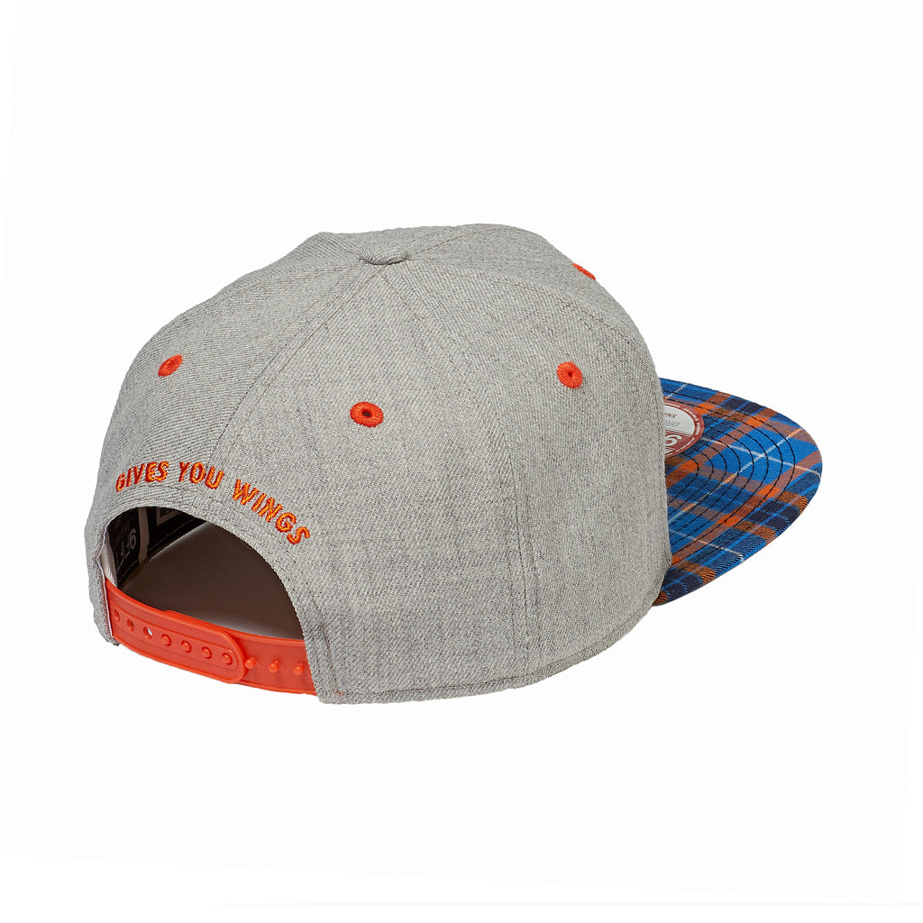 RED BULL KTM PLAID LOGO HAT