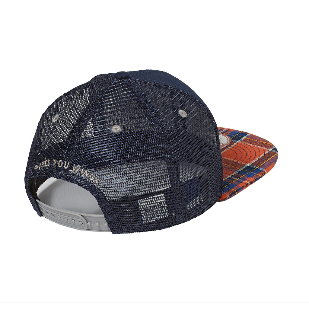 RED BULL KTM PLAID TRUCKER HAT