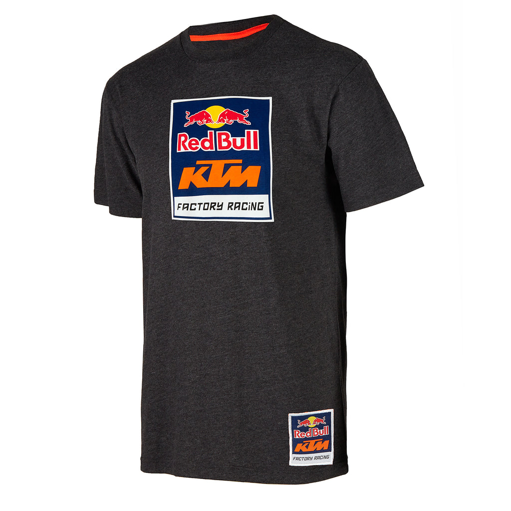 red bull ktm factory racing logo tee red bull shop us. Black Bedroom Furniture Sets. Home Design Ideas