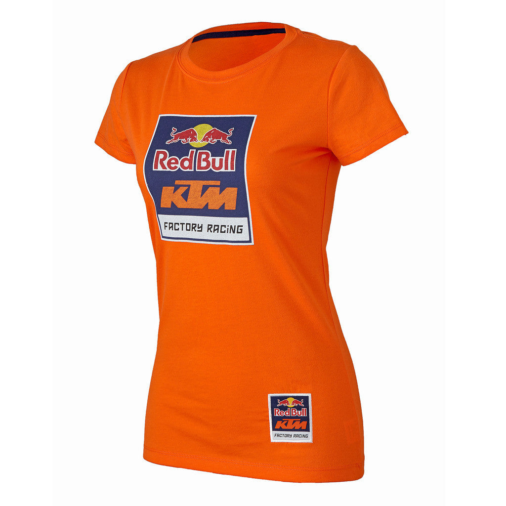 Red Bull KTM Factory Racing Women's Logo Crew Tee