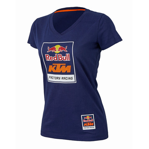 Red Bull KTM Factory Racing Women's Logo V-Neck Tee