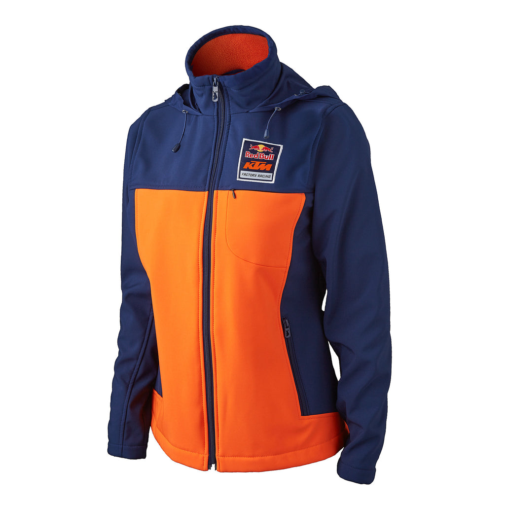 red bull ktm factory racing women 39 s 2016 softshell jacket. Black Bedroom Furniture Sets. Home Design Ideas