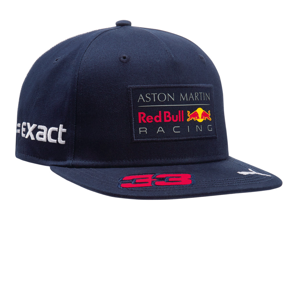 aston martin red bull racing 2018 verstappen driver 39 s hat. Black Bedroom Furniture Sets. Home Design Ideas