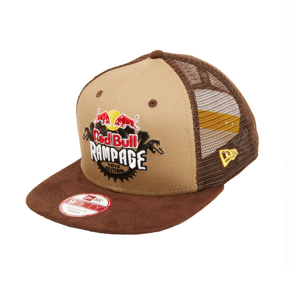 Red Bull Rampage New Era Trucker Hat  8965fbbdfd9
