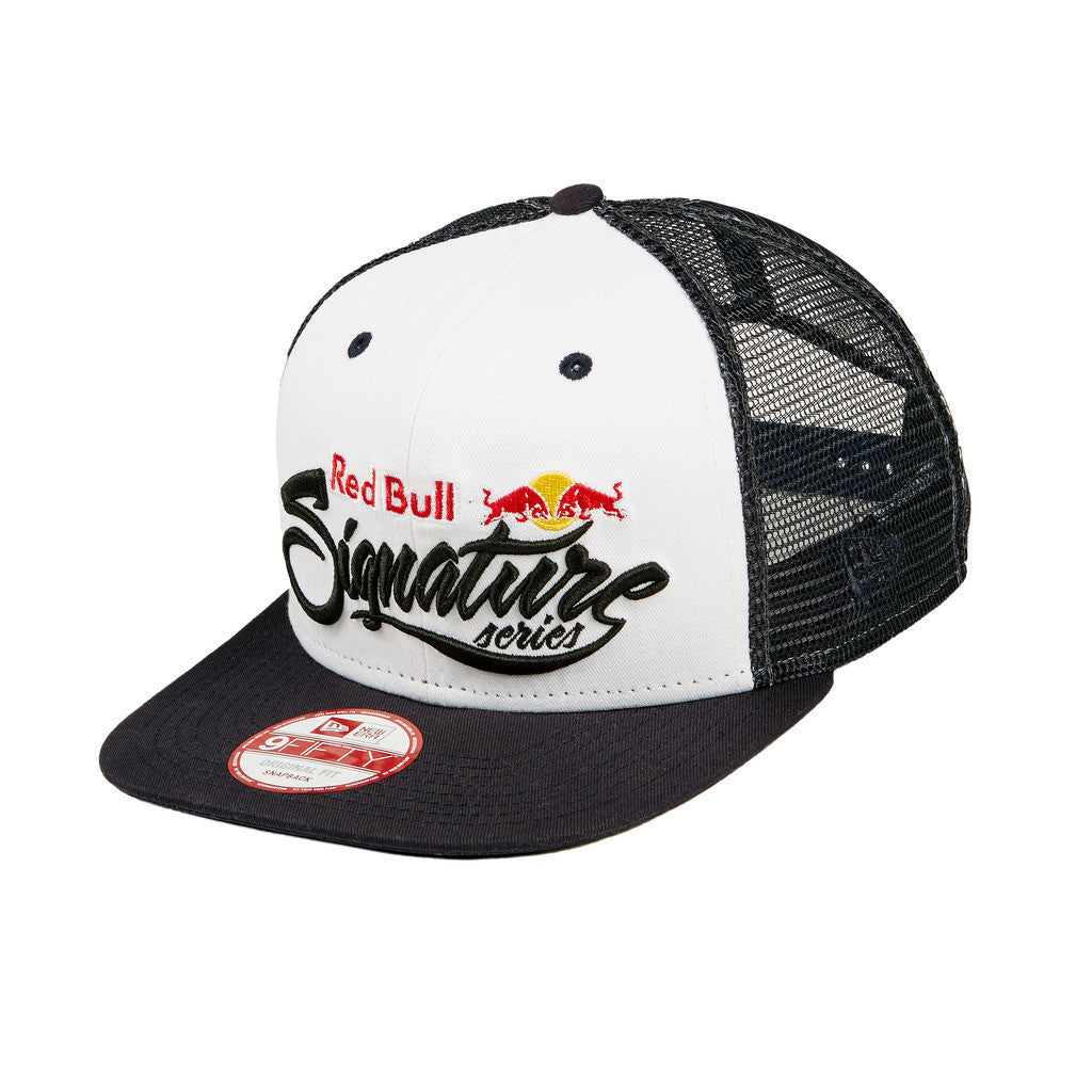 Red Bull Signature Series New Era Trucker Hat  a8c38a285a2