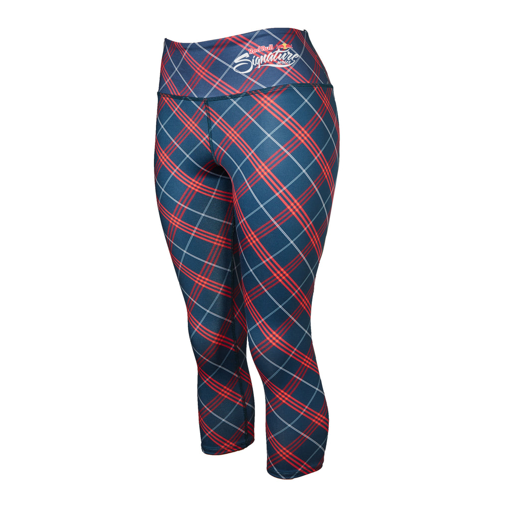 Red Bull Signature Series Women's Plaid Performance Capri
