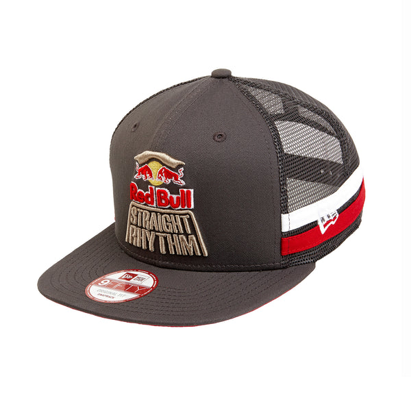 Red Bull Straight Rhythm Stripe Trucker Hat
