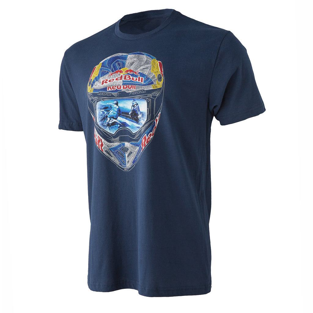 Red Bull Straight Rhythm Helmet Tee