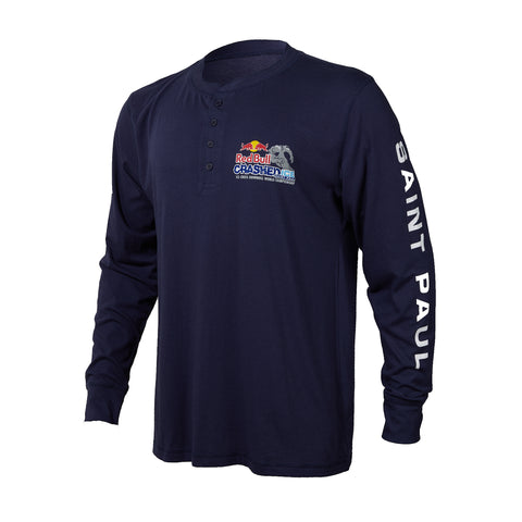 Red Bull Crashed Ice 2018 Long Sleeve Henley