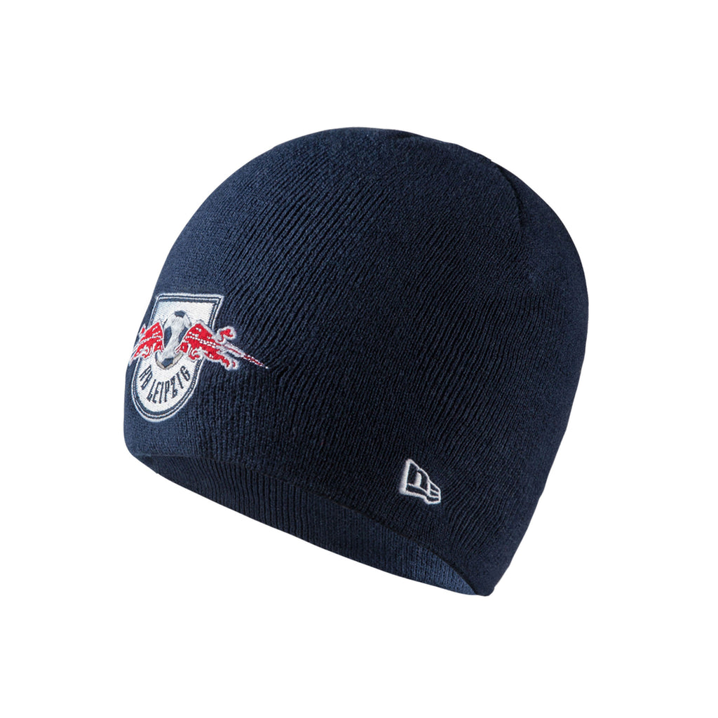 rb leipzig new era logo beanie red bull shop us. Black Bedroom Furniture Sets. Home Design Ideas