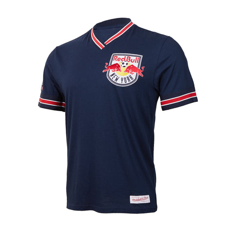 New York Red Bulls Mitchell & Ness Overtime Win Vintage Tee