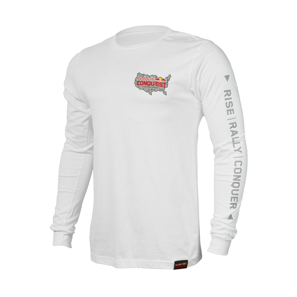 Red Bull Conquest Map Long Sleeve T-Shirt