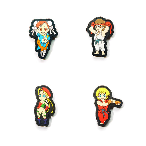 Red Bull Conquest Street Fighter Character Patch Sets