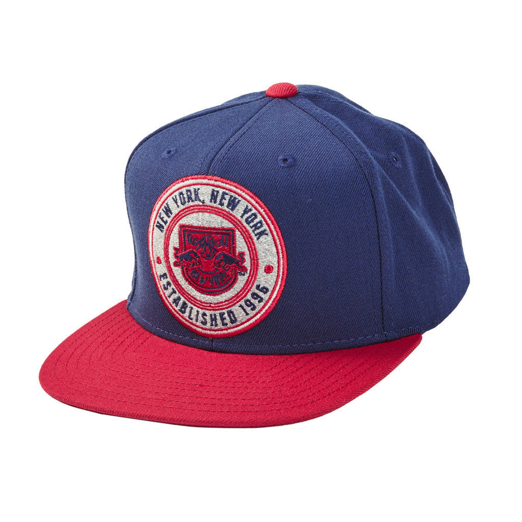 8086d748f7fc9c New York Red Bulls Patch Snapback Hat | Red Bull Shop US