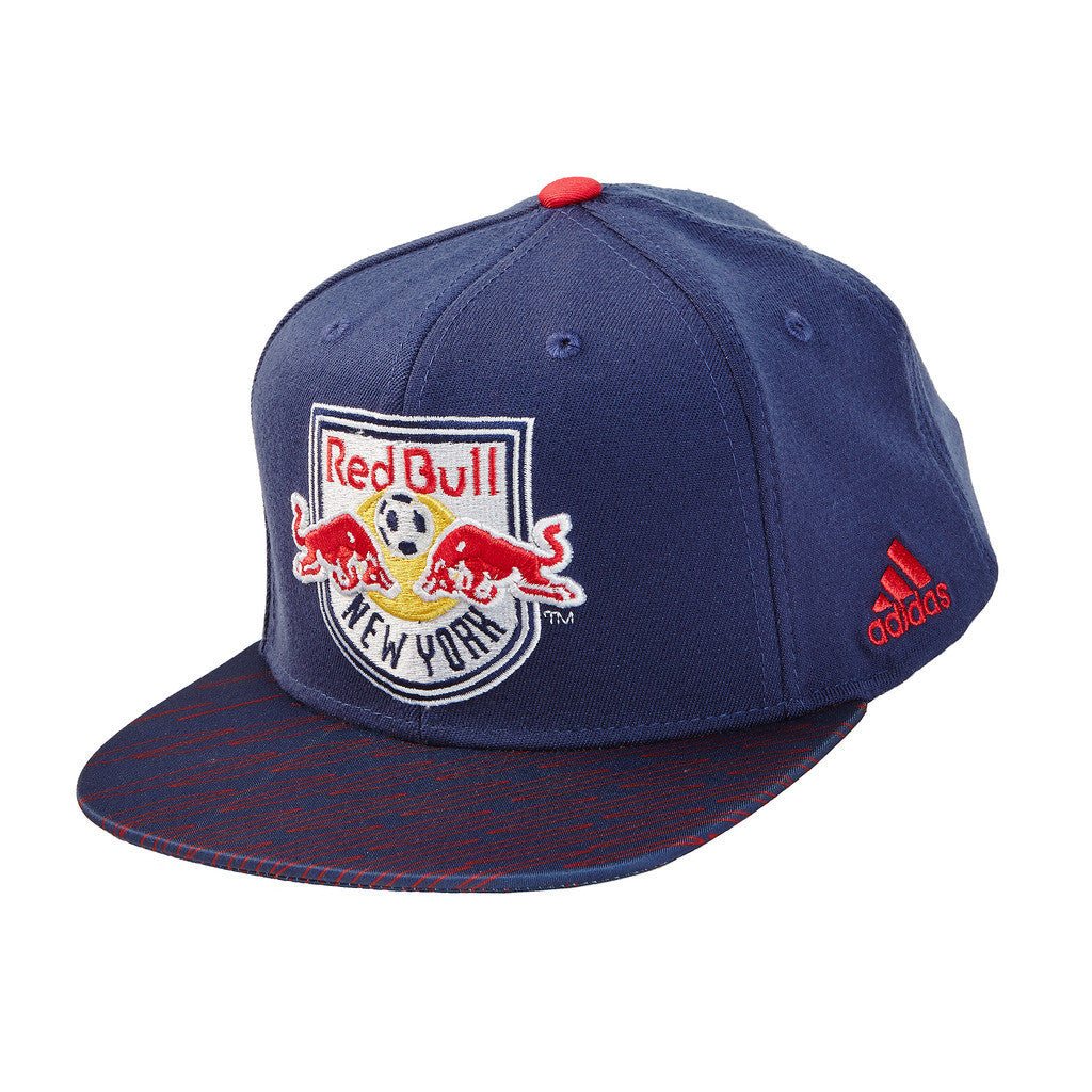 New York Red Bulls Logo Snapback Hat