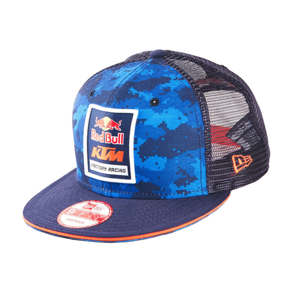 Red Bull KTM Factory Racing Camo Trucker Hat  8e98012387b