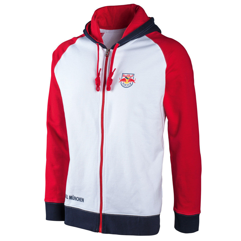 ehc red bull munich logo zip hoodie red bull shop us. Black Bedroom Furniture Sets. Home Design Ideas