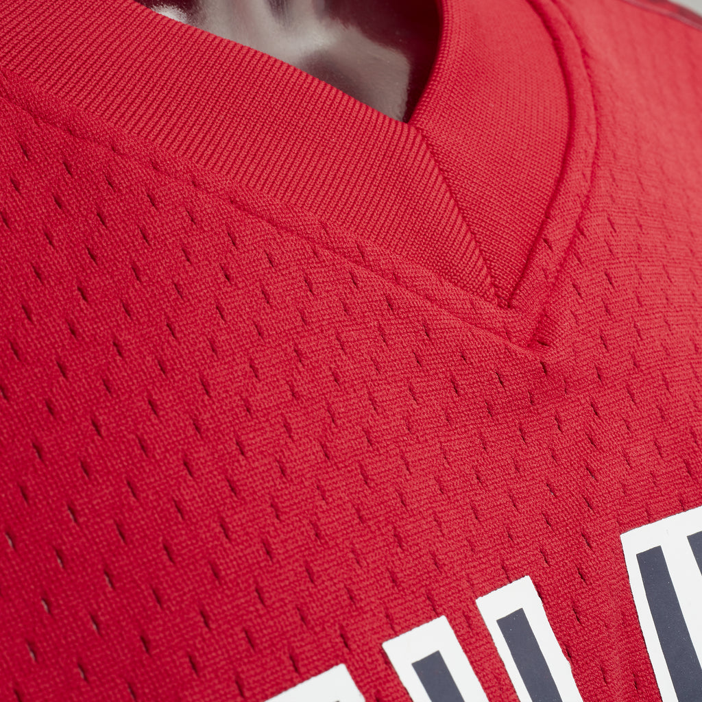 New York Red Bulls Mitchell & Ness Mesh V-Neck