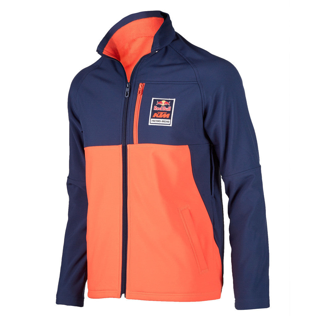 red bull ktm factory racing softshell jacket red bull. Black Bedroom Furniture Sets. Home Design Ideas