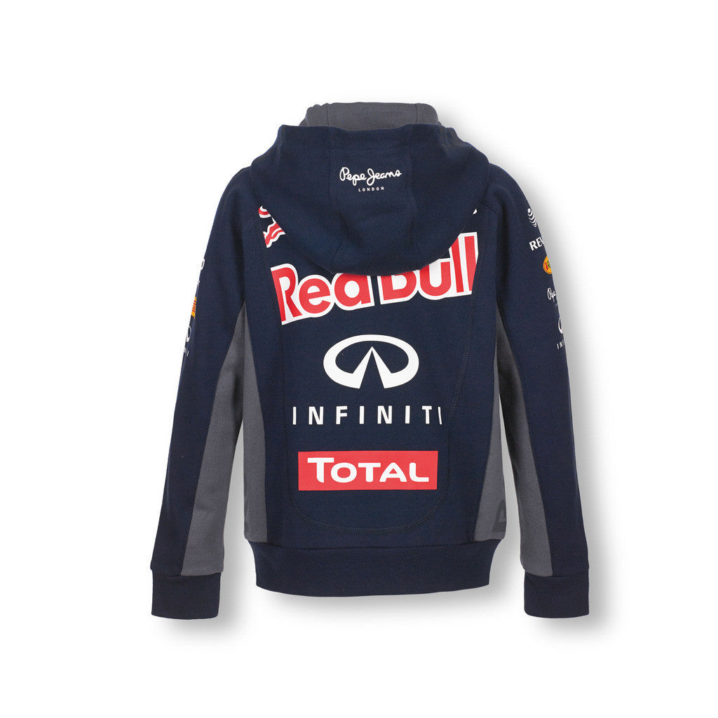 Infiniti Red Bull Racing 2015 Official Teamline Zip Hoodie