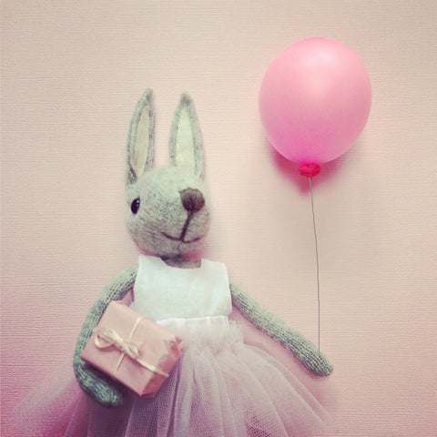 CR111 | Birthday Ballerina Bunny