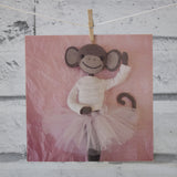 CR136 | Pretty Monkey Ballerina