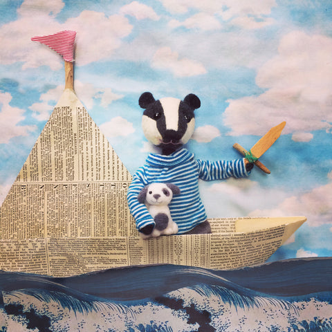 CR141 | Mr Badger & His Boat