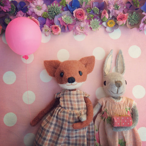 CR144 | Fox & Bunny Friends