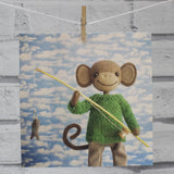 CR146 | Monkey goes fishing!