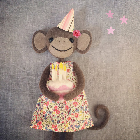 CR163 | Birthday monkey