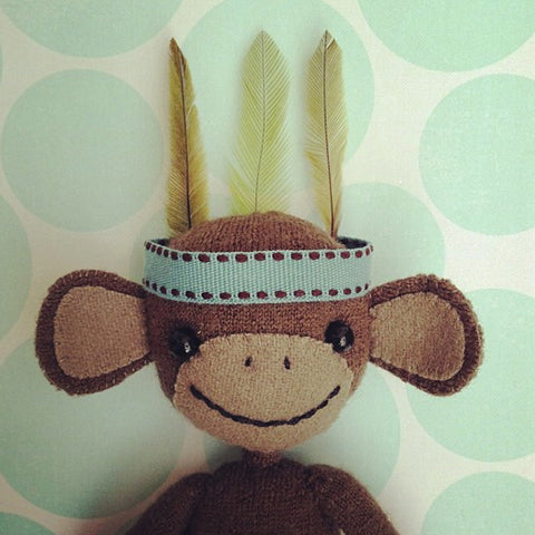 CR23 | Gorgeous monkey with his feathers