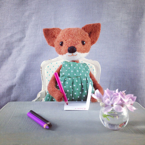 CR95 | Writing Fox