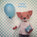 Letters18 | Happy Birthday Fox